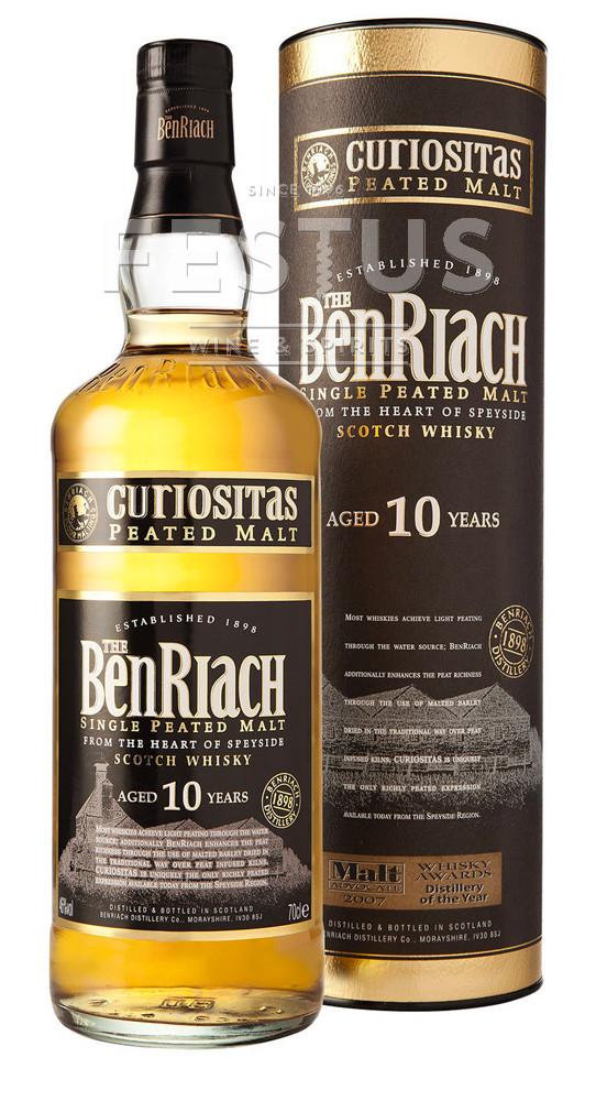 Festus | BenRiach 10 YO Curiositas Peated