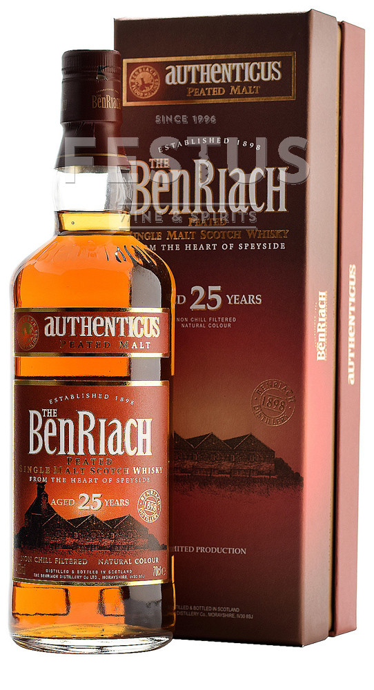 Festus | BenRiach 25 YO Authenticus Peated
