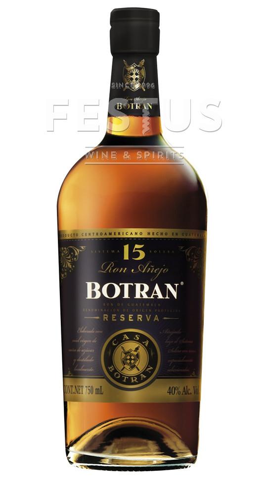 Festus | Botran 15 YO Solera Reserva Rum