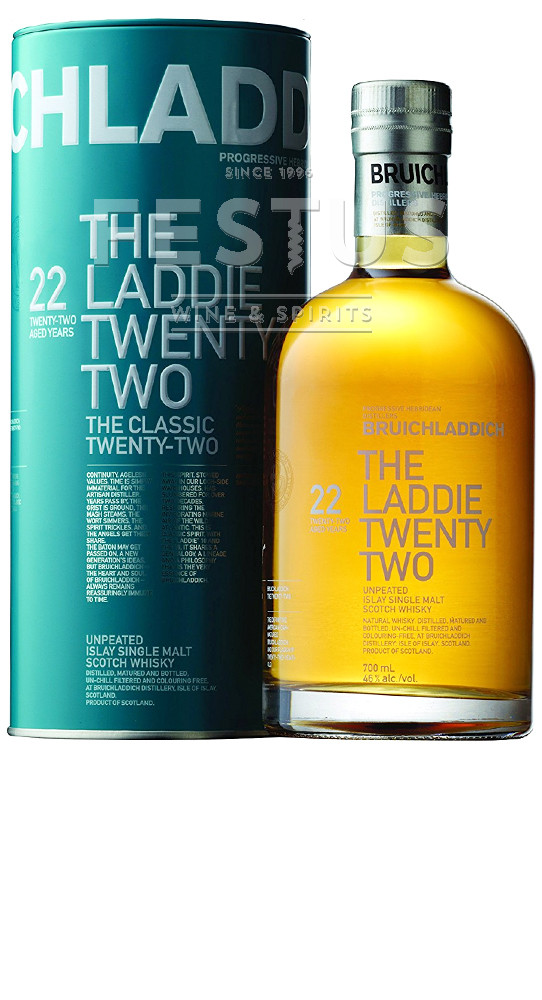 Festus | Bruichladdich Laddie Twenty Two 22 YO