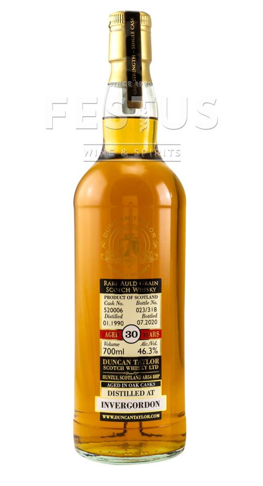 Festus   Duncan Taylor Rare Auld Grain Invergordon 1990 30 YO (cask 520006)
