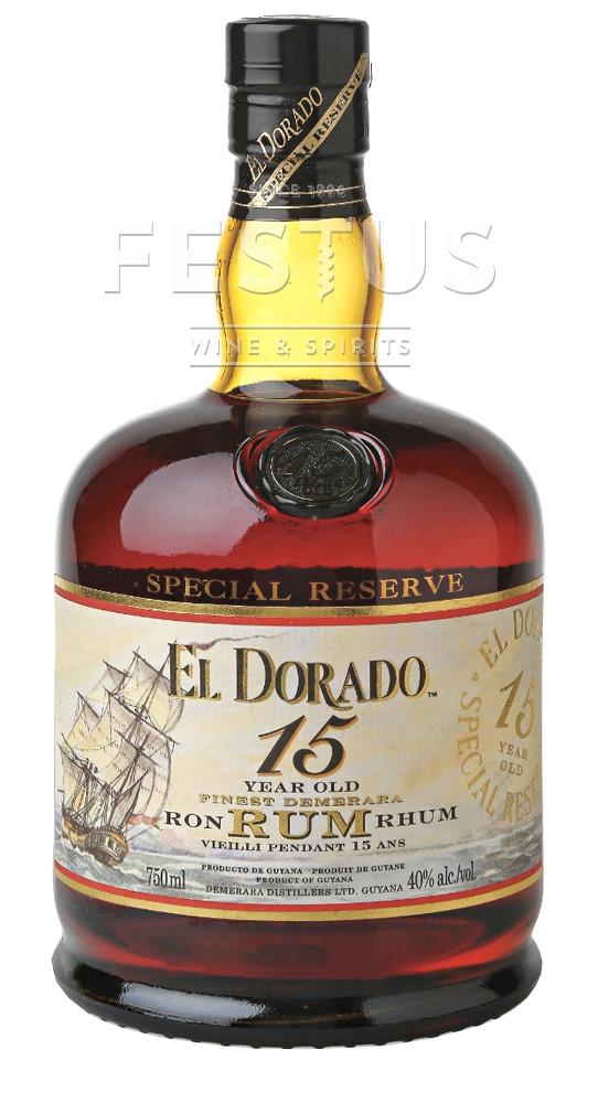 Festus | El Dorado Special Reserve 15 YO Rum