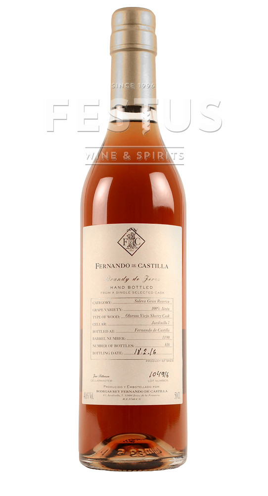 Festus   Fernando de Castilla Solera Gran Reserva Single Cask Oloroso Viejo Sherry