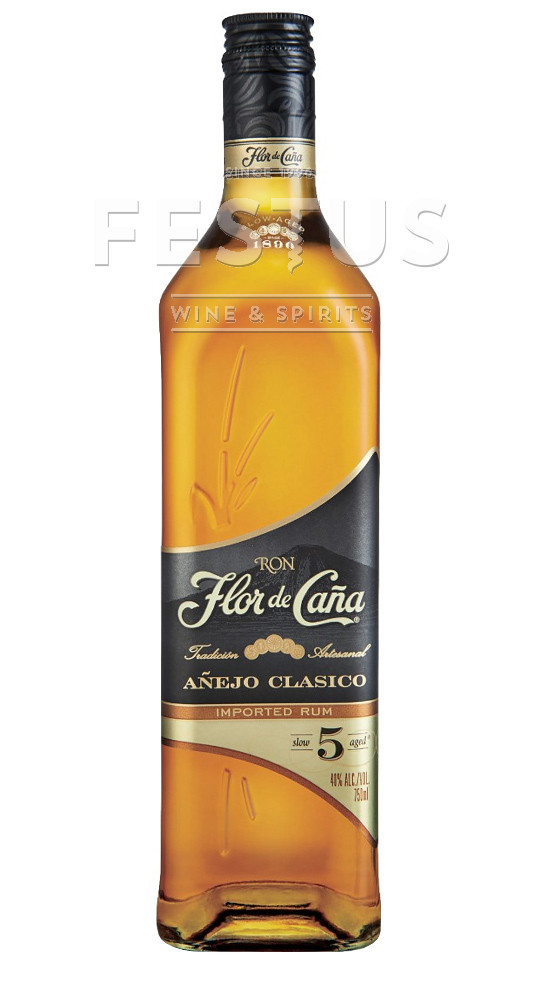 Festus | Flor de Cana 5 YO Anejo Clasico
