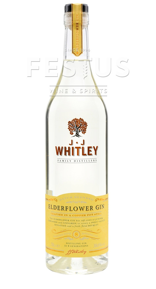 Festus | J.J. Whitley Elderflower Dry Gin