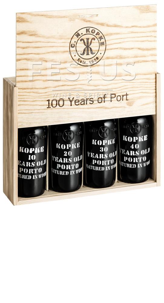 Festus | Kopke Porto Century Tinto Kit 4x37,5cl