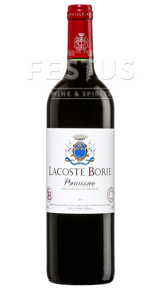 Festus   Chateau Grand Puy Lacoste Lacoste Borie 2017