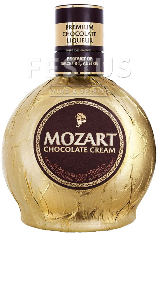 Festus | Mozart Liqueur Cream Gold Chocolate