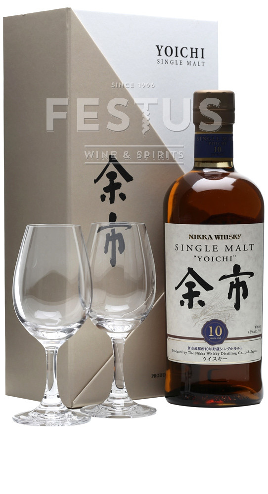 Festus | Nikka Yoichi 10 YO + szklanki *