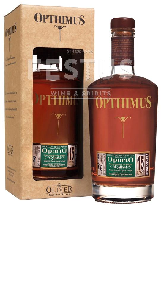 Festus | Opthimus 15 YO Solera Port Finished Rum