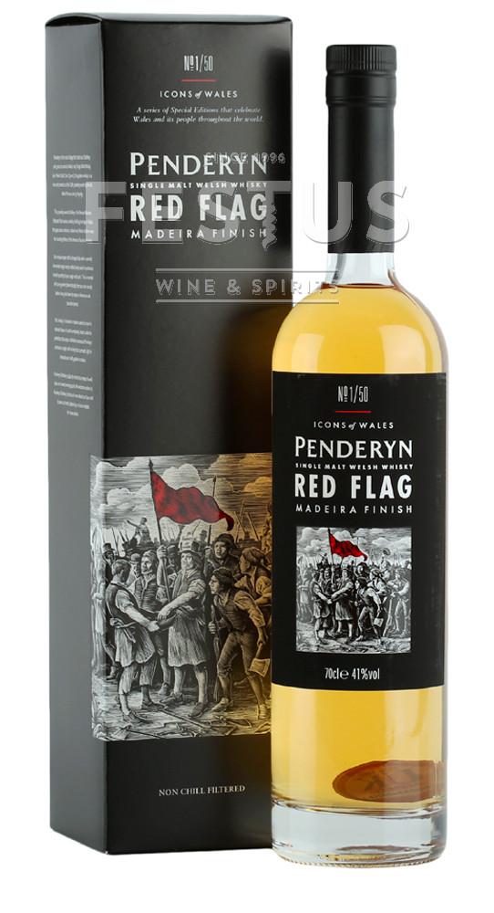 Festus   Penderyn Icons of Wales Red Flag