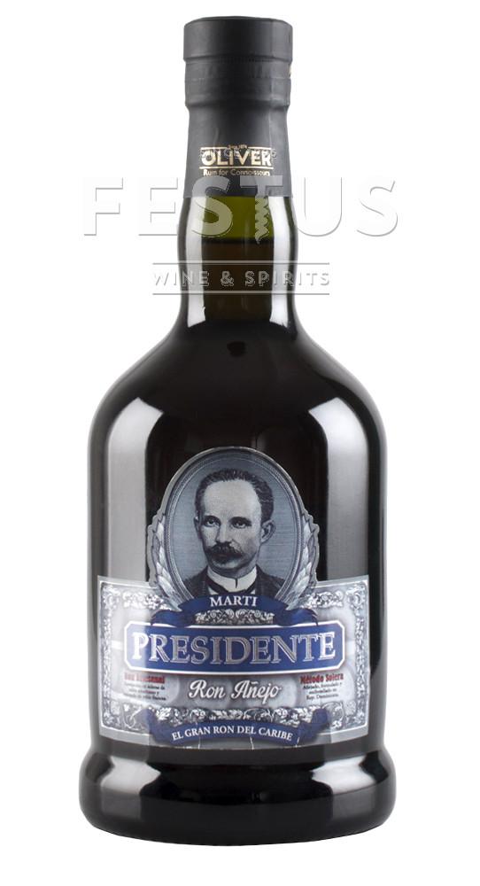 Festus | Presidente Marti Rum Gran Anejo