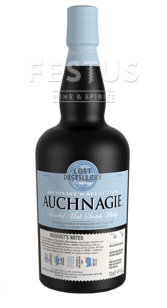 Festus | The Lost Distillery Archivist Auchnagie