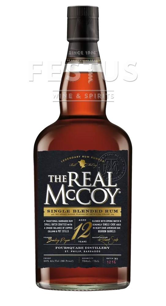 Festus | The Real McCoy Rum 12 YO
