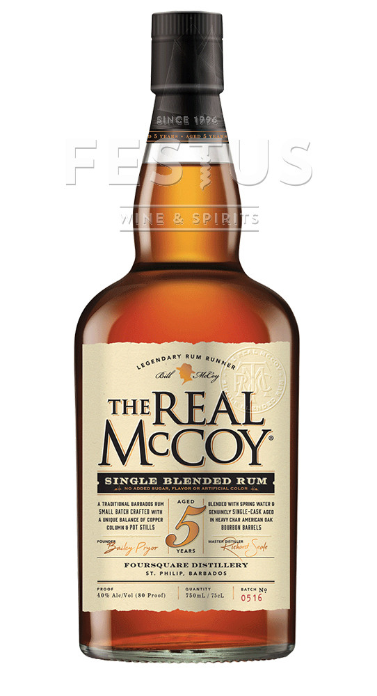 Festus | The Real McCoy Rum 5 YO