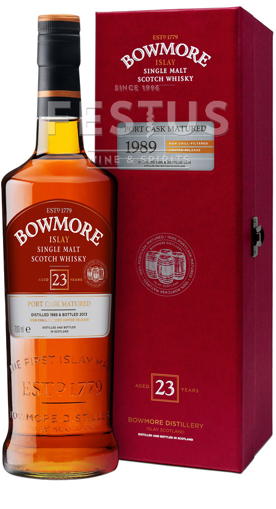 Festus | Bowmore 23 YO 1989 Port Cask Matured *