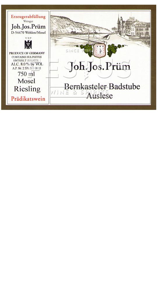 Festus | J.J. Prum Bernkasteler Badstube Riesling Auslese 2014