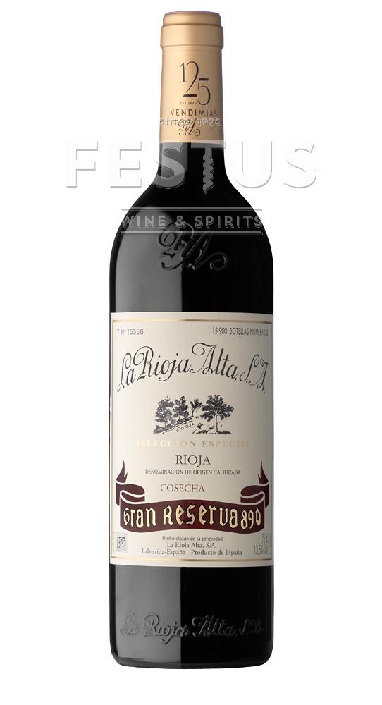 Festus | La Rioja Alta Gran Reserva 890 2001
